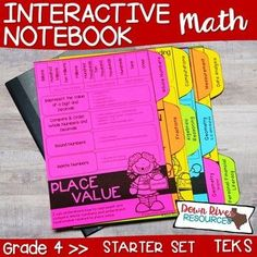 Interactive science notebooks first Math Teacher, Math Classroom, Teaching Math, Interactive Notebook Rubric, Notebook Dividers, Notebook Covers, Fourth Grade Math, High School Science, Math Notebooks