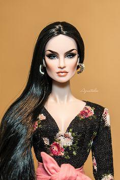 OOAK FASHION ROYALTY TATYANA ALEXANDROVA ''BIANCA '' by Aq… | Flickr
