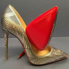 Get the must-have formal shoes of this season! These Christian Louboutin Bollywood Turquoise Formal Shoes are a top 10 member favorite on Tradesy. Hot Shoes, Crazy Shoes, Me Too Shoes, Pumps, Stilettos, Pretty Shoes, Beautiful Shoes, Stiletto Shoes, Shoes Heels