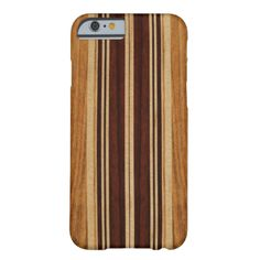 Light faux wood colorway. Located on Oahu's North Shore in Hawaii, there are about a dozen beaches that are known for their history with famous surfers of the fifties, sixties and seventies. These surfers and shapers inspired us to design these cases. We combined faux koa wood and various other woods to create these case designs. These case designs look great with both the white and the black iPhones. #surfboard #longboard #vintage #surf #hawaii #hawaiian #stripes #tropical #island #surf ...