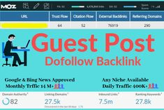 Why Dofollow Guest Post? As you know that Dofollow backlink is one of the most important ranking factors for any website which also has a better outcome than any other low-quality backlinks. Google prefers Do-follow backlinks and it is being broadly used in their search rankings.  #guestpost #highdaguestpost #guestpostdofollowbackinks #guestpostdofollowbackink #dofollowguestpost #guestposting #dofollowguestposting #guestpostservice #seoguestpost #seo #backlinkanalysis #offpageseo Best Seo Services, Website Ranking, Factors, Content Marketing, Knowing You, Author, Search, Google, Searching