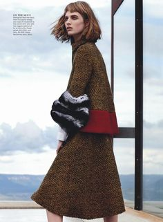 Ashleigh Good (FORD) for Vogue Australia. Shot by Nicole Bentley. #Models