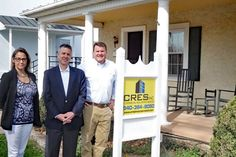 """Commercial Realtor bullish about Marshall's future: CRES Social Media Director Tobin Maynard, owner Bill Chipman and Realtor Eric Morrison at the Marshall office. To the veteran commercial real estate agent, Marshall seemed like the obvious place to open a new office. """"I think there's a lot of potential,"""" Bill Chipman, owner of Warrenton-based CRES Inc., said of the Northern Fauquier village. """"It's a growth area; it's got a small town; it's got great access to a road network. So, it's just a…"""