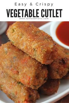 Mixed Vegetable Cutlet is an all-time favorite teatime snack. A bowl of tomato ketchup and coriander chutney to dip the cutlet makes it a vegetarian snack recipe via funfoodfrolic.com #vegetarianrecipes #snacrecipes #veganrecipes Pakora Recipes, Cutlets Recipes, Chaat Recipe, Veg Cutlet Recipes, Jamun Recipe, Puri Recipes, Samosa Recipe, Paneer Recipes, Vegetarian Recipes