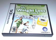 Nintendo DS Dsi Dsl Game MY WEIGHT LOSS COACH  *** NO Pedometer ***