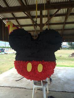 Mickey Mouse pinata:]]