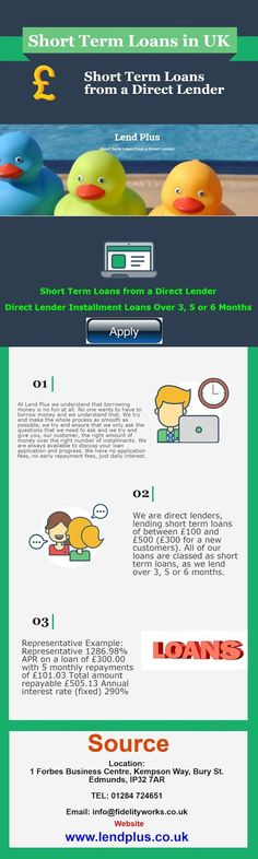 Lend Plus UK: Short Term Loans in UK