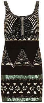 Black sequin embellished dress on shopstyle.com