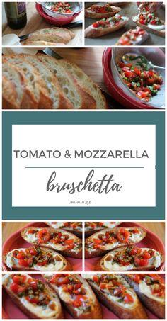tomato and fresh mozzarella bruschetta heirloom tomato and mozzarella ...