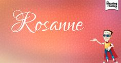 Fun facts, hidden #NameMeaning, beautiful revelations & #slick name poster about #Rosanne. This is 1 out of 10 character designs to collect. Everyday a new design will be created for this name. Did you get the nutty professor?