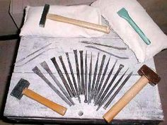 stone carving and sculpture tools - carving stone, with the right tools should be easy enough.