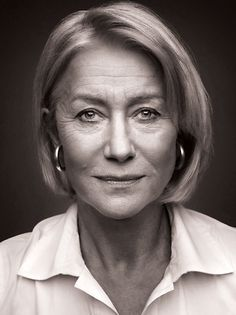 Helen Mirren. Look. No Botox. No facelift. No lip plumping. Just natural aging--lovely.
