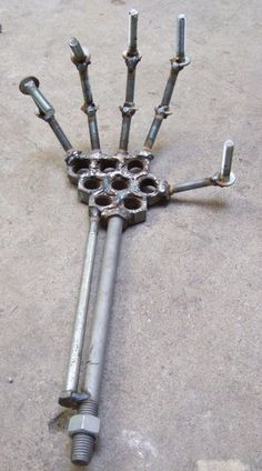 Nuts and Bolts Hand
