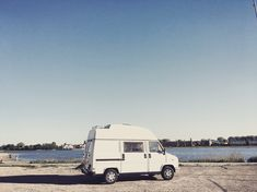 Little White Van ( White Vans, Little White, Recreational Vehicles, Photo And Video, Instagram, Camper Van, Rv Camping, Camper