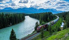 Bow River, Banff National Park, Alberta, Canada