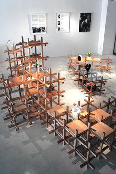 collaborative chidori furniture