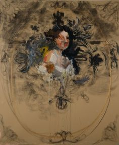 "Saatchi Online Artist Hannah Dean; Painting, ""Guilt and Charity"" #art"