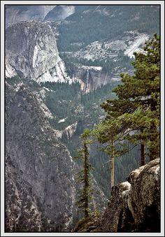 Glacier Point at Yosemite Valley