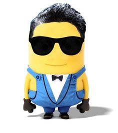 PSY minions Minions, My Minion, Cartoon Movie Characters, Fictional Characters, Ylvis, Despicable Me 3, Disney Movies To Watch, Record Producer, Korean Singer