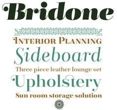 """Bridone from Catalonia's Tipo Pèpel foundry is a splendid new typeface in that style that is often labelled as """"classicist"""" or """"Didone"""". #fonts #type"""