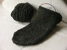 David's Toe-Up Sock Cookbook A Recipe for Creating Toe-Up Socks with a Heel Flap using Any Yarn.