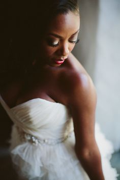 Elegant Palm Springs bride: http://www.stylemepretty.com/california-weddings/palm-springs/2015/10/05/romantic-elegant-palm-springs-wedding/   Photography: Rad + In love - http://www.radandinlove.com/