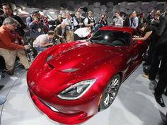 SRT Viper, da Chrysler, destaque do Salão do Automóvel de Nova York