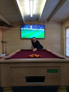 Man Cave Games, Man Cave Bar, Garage Game Rooms, Cave Pool, Garden Lodge, Family Bar, Pool Table Room, Pub Sheds, Bar Shed