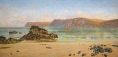 John Brett, A.R.A. - Harlyn Sands, 1889