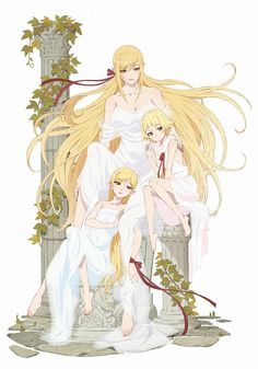 monogatari series (Kiss-Shot Acerola-Orion Heart-Under -Blade)😜 Girls Anime, Anime Art Girl, Manga Art, Manga Anime, Kawaii Anime, Fantasy Characters, Anime Characters, Fictional Characters, Shinobu Oshino
