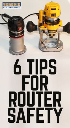 6 Router Safety Tips To Help You Work Safer Prodvided by WWGOA is part of Learn woodworking - Whether you're a seasoned woodworker, or just starting out, these router safety tips from Woodworkers Guild of America will help you work safer in your shop