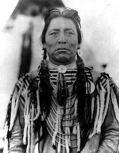 Chef Two Guns White Calf Amérindien Blackfoot