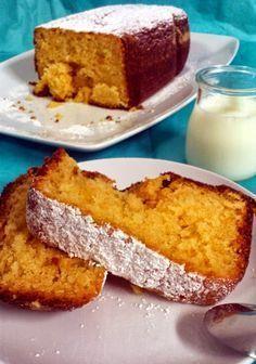 Bizcocho de limón en panificadora | La Caja de las Delicias Bread Maker Recipes, Pan Dulce, Delicious Magazine, Pan Bread, Almond Cakes, Dessert Recipes, Desserts, Sweet Bread, Sin Gluten