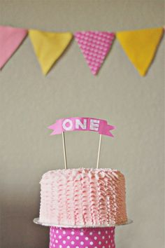 very cute pink and yellow party