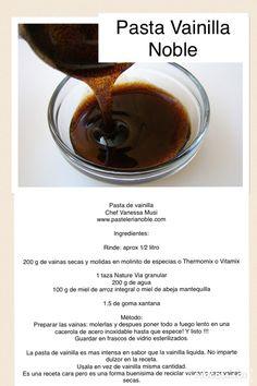 La pasta de vainilla es ideal para potenzializar sabores