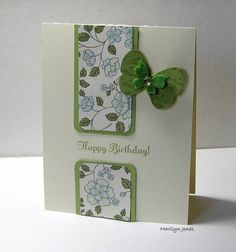 SC336 Butterfly B-day by mlj-mlj - Cards and Paper Crafts at Splitcoaststampers