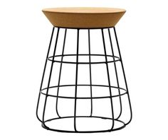 Sidekick Stool By Timothy John For Thanks. Find This Pin And More On  Furniture By Blueyello. Minimalist Stool Supported With Geometric Steel Bars  ...