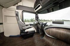 Грузовик Mercedes-Benz из будущего