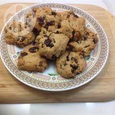 Cookies protéicos sem glúten @ allrecipes.com.br - Cookies com sementes de chia, sem lactose e sem glúten.