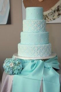 Aqua cake