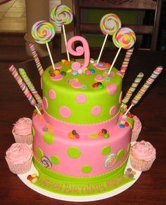Mario Birthday Cake Childrens