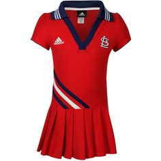 St. Louis Cardinals Infant Girls Polo Dress...Kinsley has this dress!