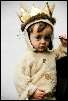 Bookish Halloween costumes for children: Max from Where the Wild Things Are Halloween costume.
