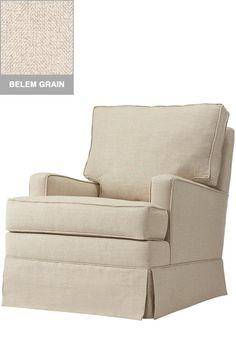 Custom Habersham Upholstered Glider