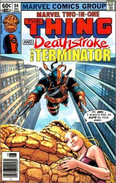 Thing and Deathstroke