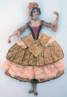 great paper art dolls