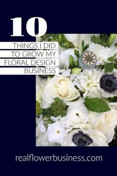 flower business, learn to be a florist, floral design, florist education, flower school Wedding Doves, Flower Bar, Business Coaching, Business Tips, Craft Business, Flower Bouquet Wedding, Florists, Floral Arrangements, Floral Design