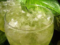 Bi-tua-drink made from a Thai reed