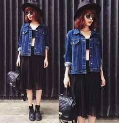 Get this look: http://lb.nu/look/6482954  More looks by Phen Holy: http://lb.nu/phenholy  Items in this look:  Sheinside Skirt