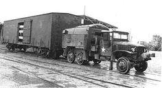 CCKW locomotive Korea 1953